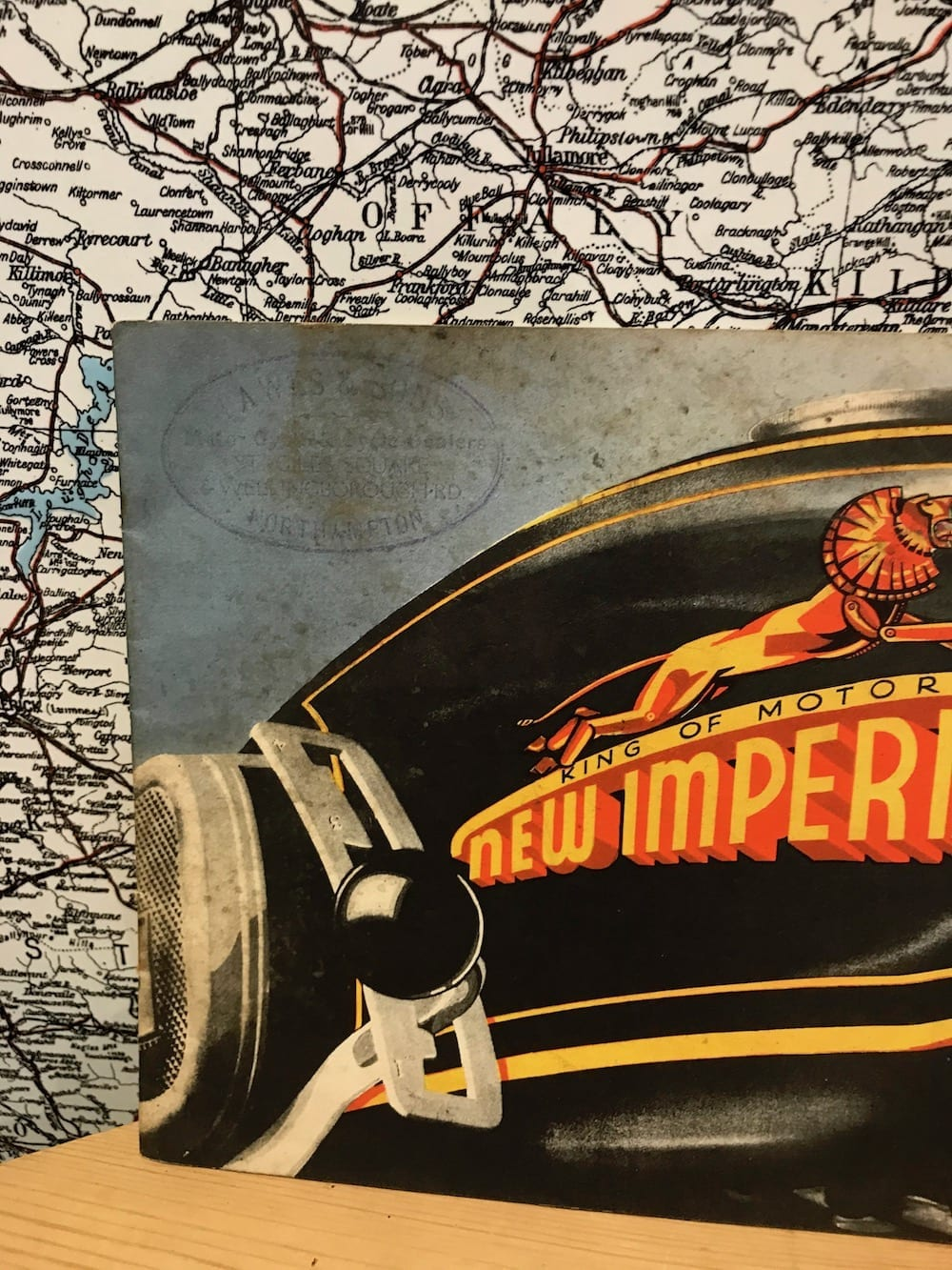 1936 NEW IMPERIAL MOTOR CYCLES CATALOGUE. - Vintage Motoring UK