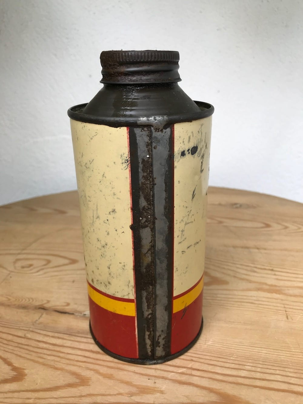 SHELL X-100 MOTOR OIL PINT CAN. - Vintage Motoring UK