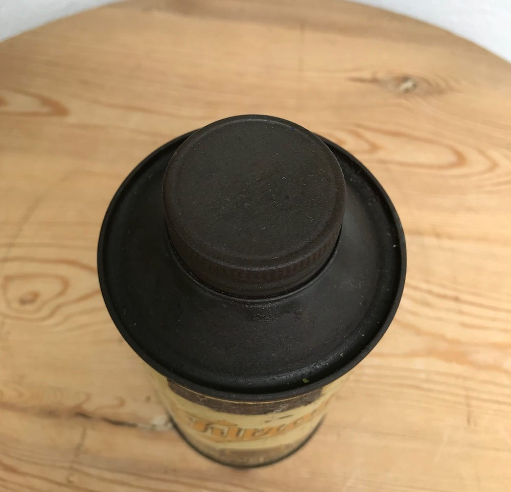 EARLY FILTRATE GEAR OIL PINT CAN. - Vintage Motoring UK