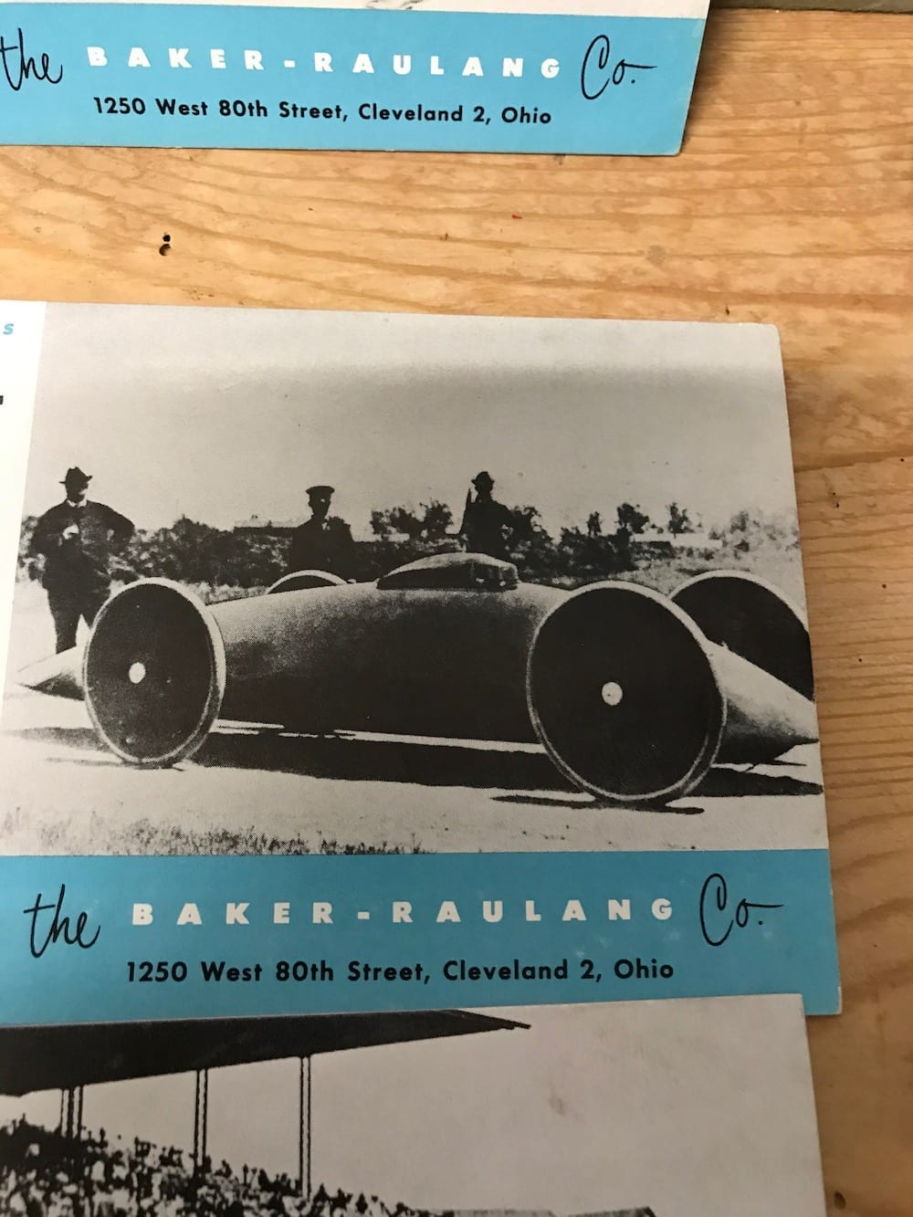 RARE BAKER-RAULANG CO. 100th ANNIVERSARY 1853-1953. - Vintage Motoring UK