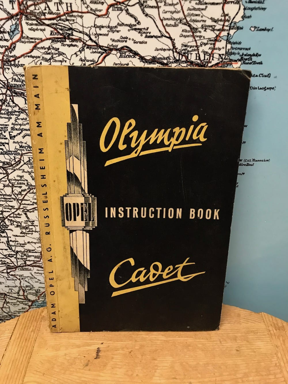 OPEL OLYMPIA & CADET INSTRUCTION BOOK. - Vintage Motoring UK
