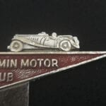 RARE TOULMIN MOTOR CLUB FOR THE MG ENTHUSIAST CAR BADGE. - Vintage Motoring UK