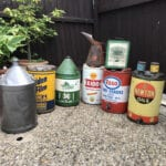 COLLECTION OF OIL DRUMS/NEW STOCK ARRIVALS. - Vintage Motoring UK