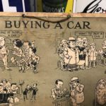 FERODO CARDED SIGN BY W.H.COBB IS RARE AND PRECIOUS. - Vintage Motoring UK