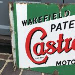 WAKEFIELD CASTROL SIGN A POPULAR CHOICE FOR COLLECTORS. - Vintage Motoring UK