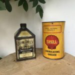 NEW STOCK ITEMS/ SCARCE SHELL & BOW BELL'S TINS. - Vintage Motoring UK
